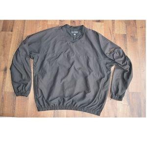 Footjoy Mens L Long Sleeve Pullover Golf Jacket